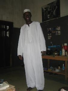 Samiwu in zijn Salahkleed