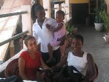 Samira, Rashida, Maureen en Zenab